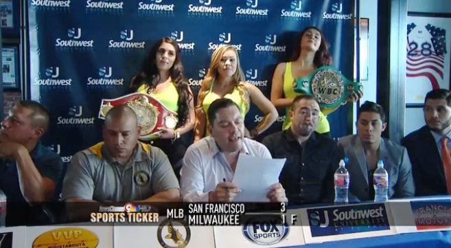 Marco Antonio Rubio fights for the WPBF World Title