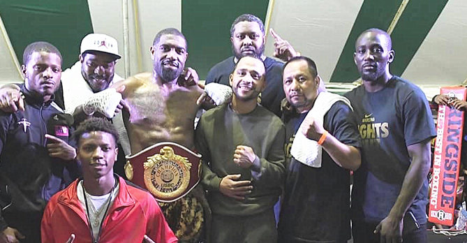 "Steven ""So Cold"" Nelson New USBC Super Middleweight Champion"
